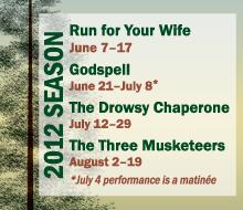 Black Hills Playhouse: 2012 Season