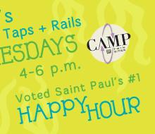 Camp Bar Promotional Materials